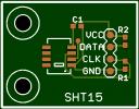 SHT-15 PCB